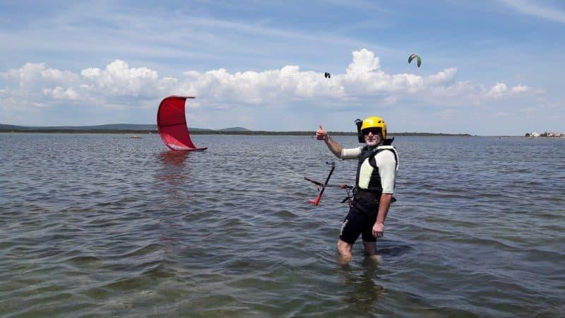 cours kitesurf à Montpellier