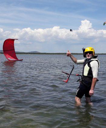 cours privé kitesurf à frontignan