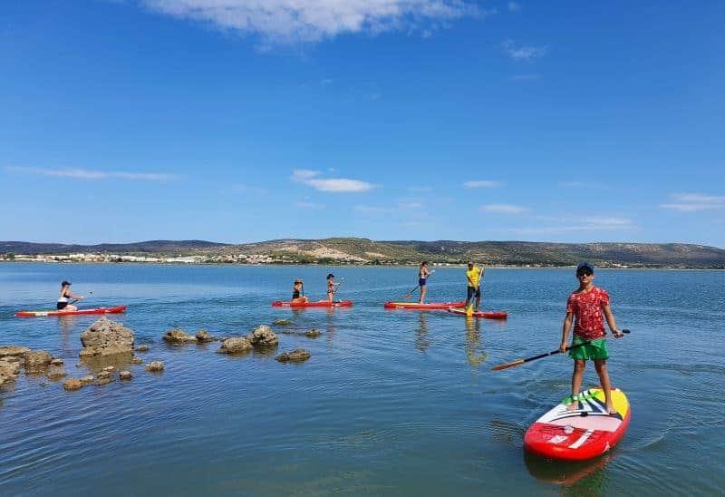 balade paddle découverte à Frontignan