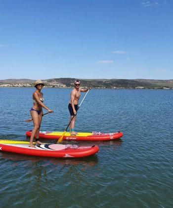 balade paddle en couple
