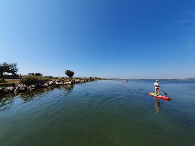 Balade Paddle autour de Montpellier