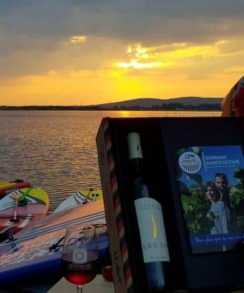 dégustation de vins et balade paddle