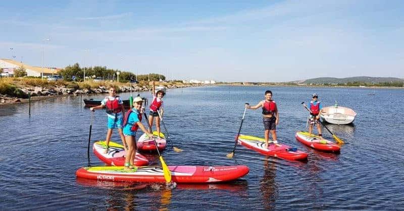 Balade paddle pour enfants sur l'étang de Frontignan