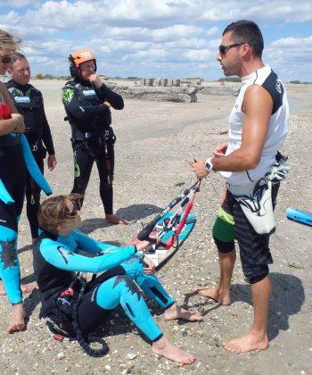 école de kitesurf à montpellier