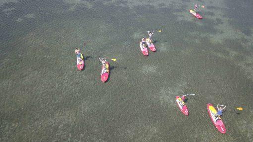 balade paddle étang de Frontignan