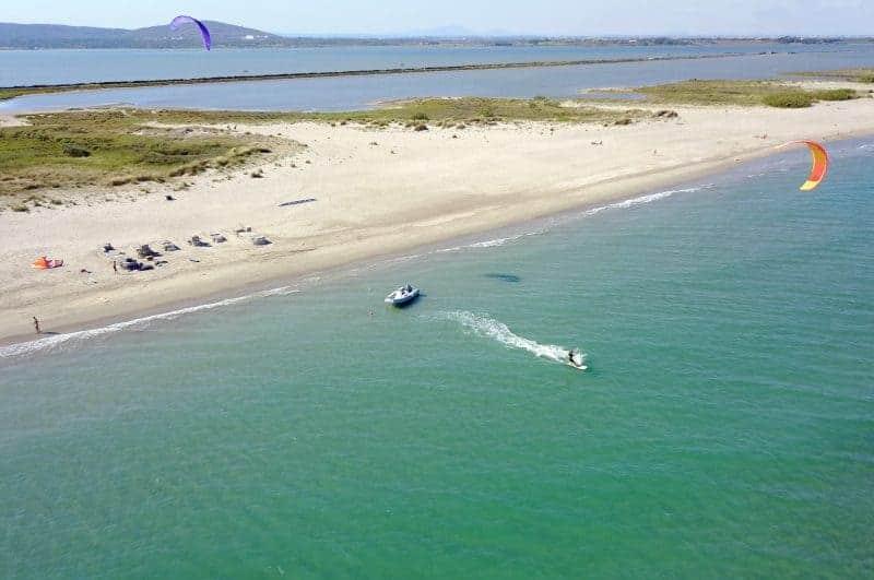 spot de kitesurf montpellier