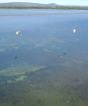 kitesurf étang d'ingril frontignan