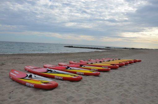 location paddle à frontignan plage