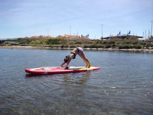 Paddle Yoga à Frontignan