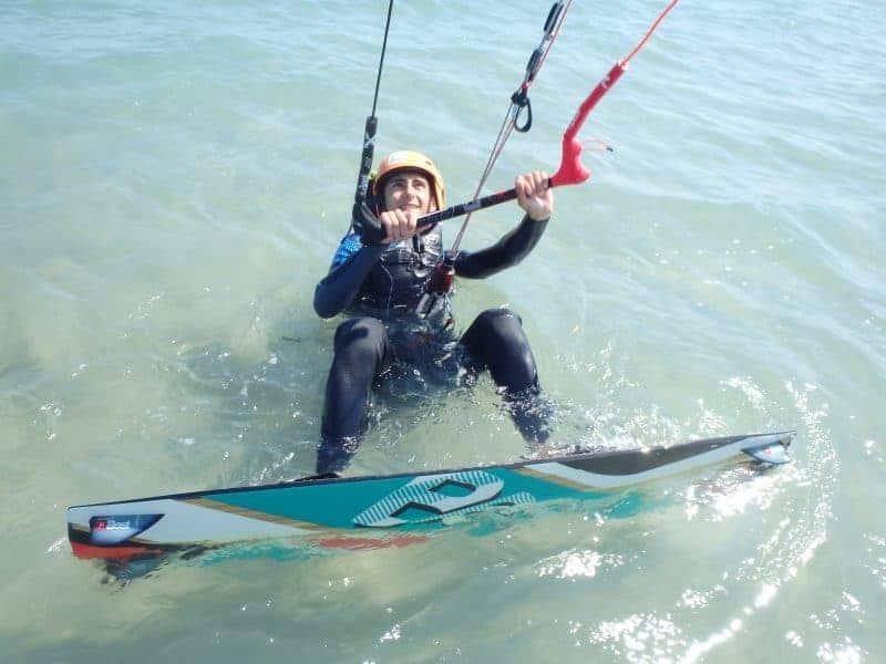 cours kitesurf débutant à montpellier