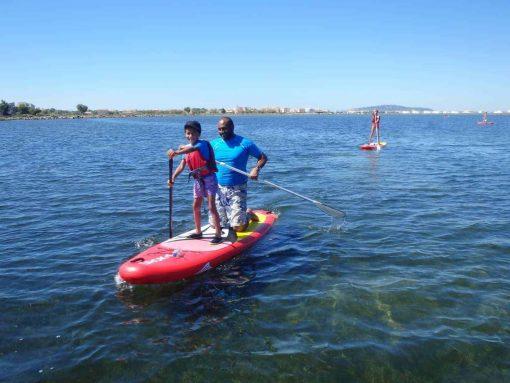 balade paddle en famille