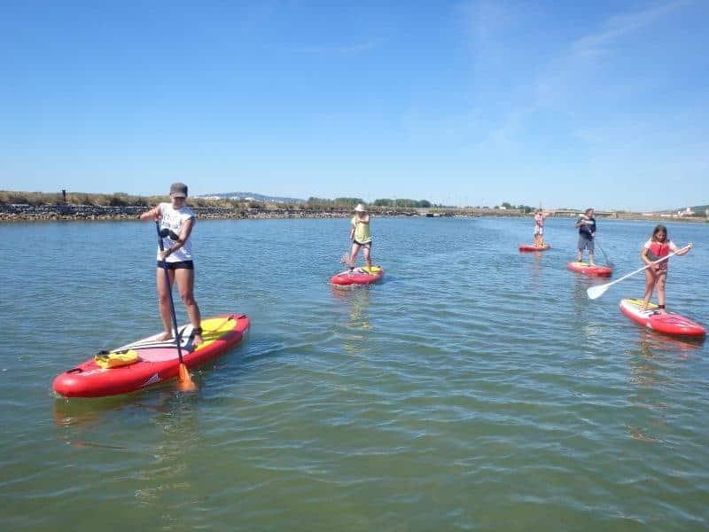 balade découverte du paddle à Montpellier