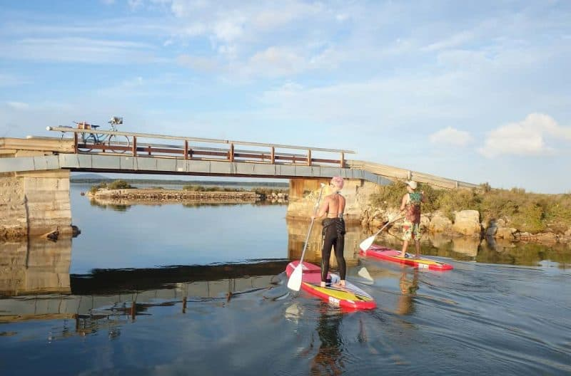 Balade Paddle sur les étangs de Frontignan