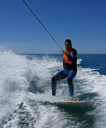 session de wake surf à frontignan