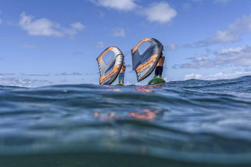 balade en Wing Surf à Montpellier