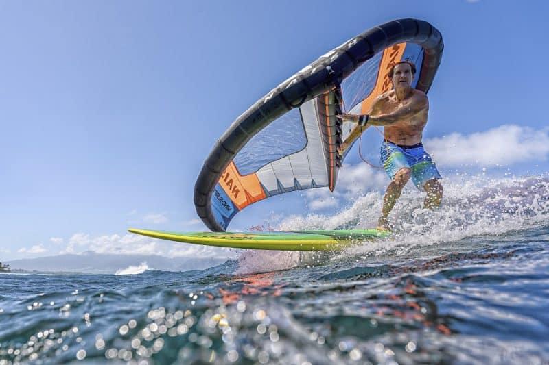 cours de wingsurf à Frontignan