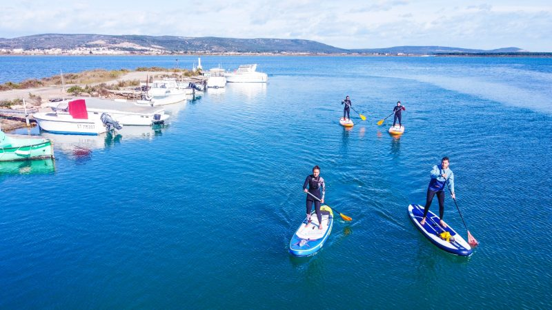 Balade en paddle avec le Tiki Center