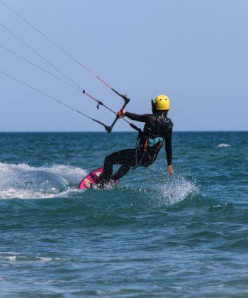 Session Kite Surf à la plage des Aresquiers