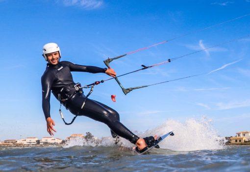 Session de Kite Surf