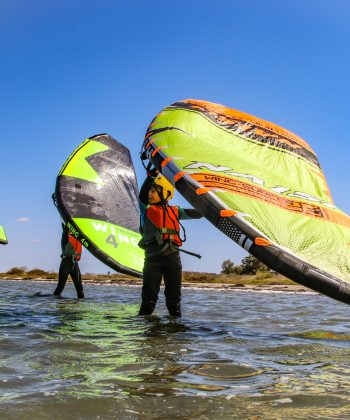 Cours de Wing Surf à l'Etang d'Ingril